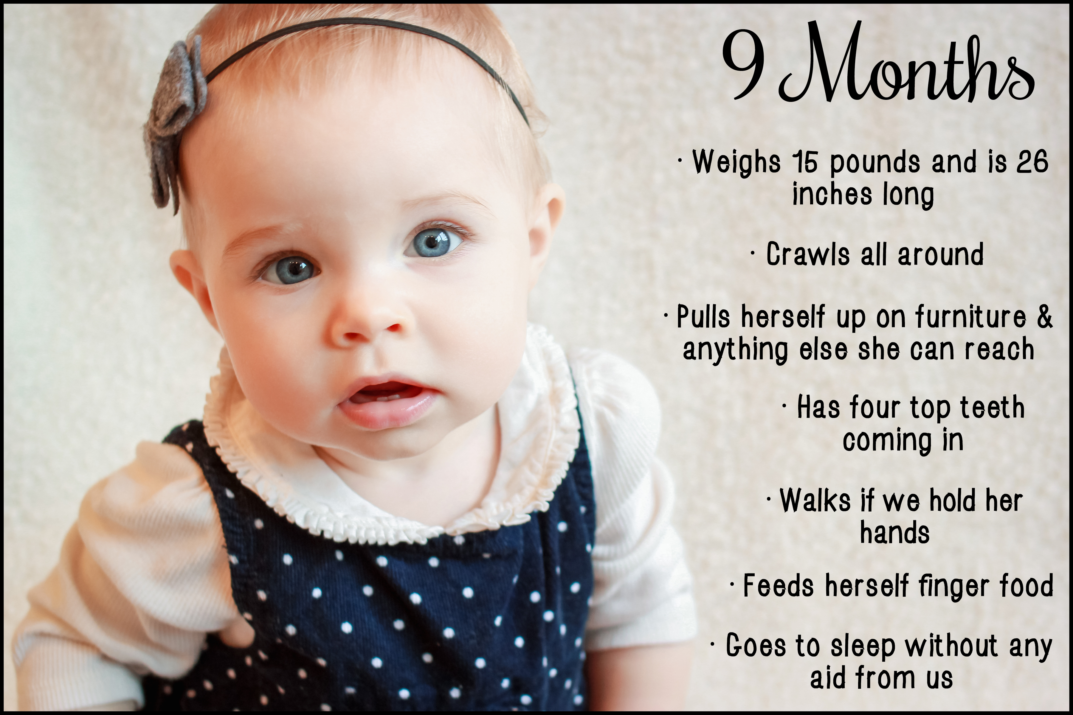 Food For Nine Months Old Baby