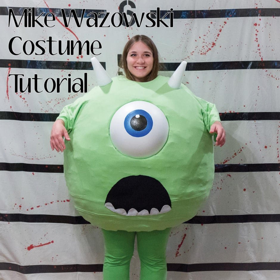 Mike Wazowski DIY3rev