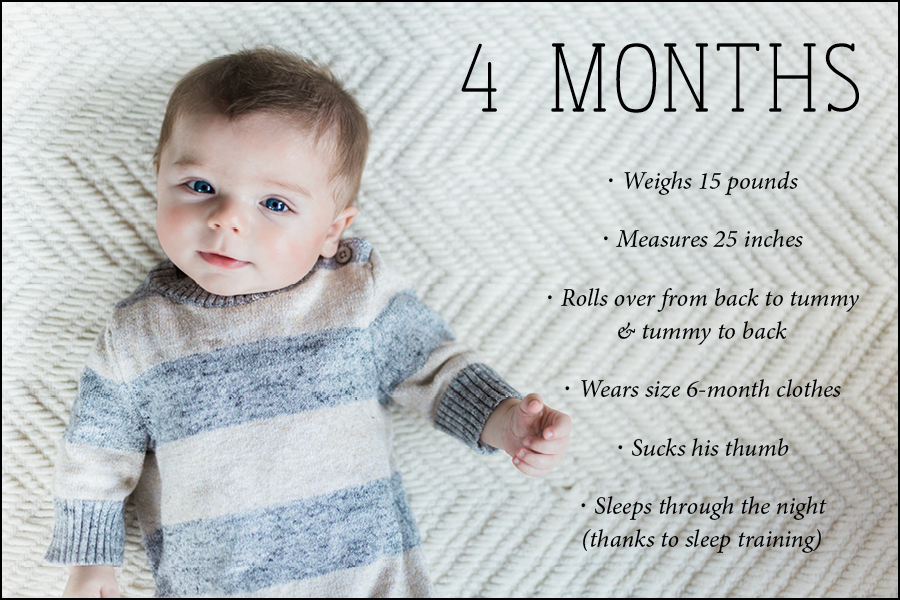 4 month blog photo