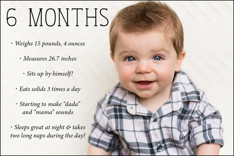 6 month blog photo