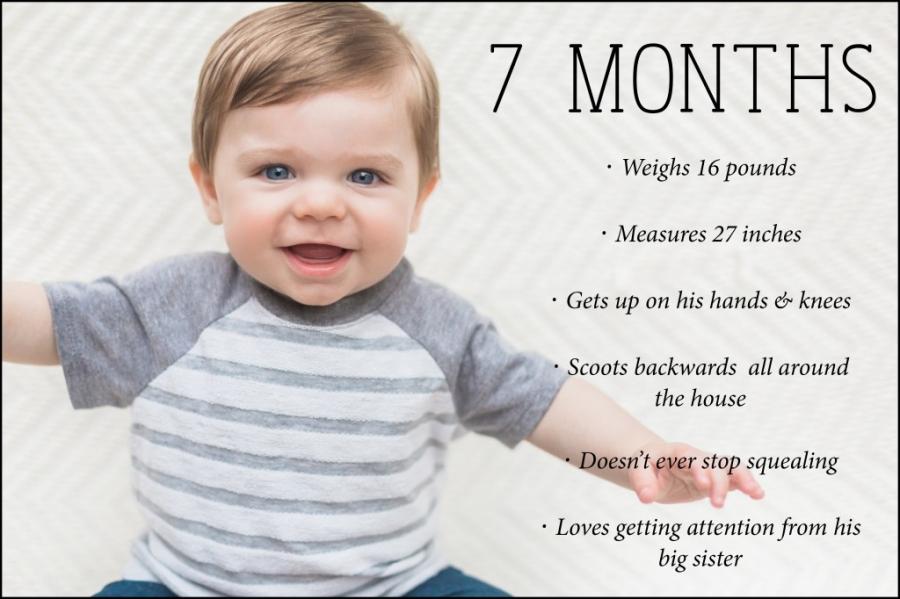 7 month blog photo