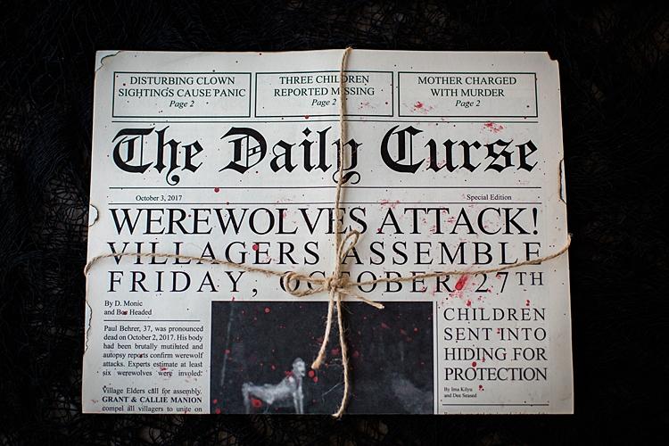 Creative Scary Halloween Party Invitations1